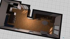 Raumgestaltung Wohnküche neu in der Kategorie Küche