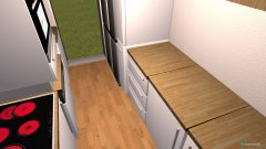Raumgestaltung Wohnung 4 in der Kategorie Küche