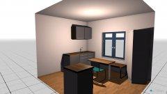 Raumgestaltung Wohnung Küche in der Kategorie Küche