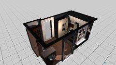 Raumgestaltung Wohnung1 in der Kategorie Küche
