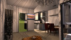 Raumgestaltung Wohnzimmer 1.2 in der Kategorie Küche