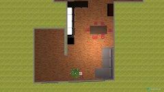 Raumgestaltung Wohnzimmer + Küche in der Kategorie Küche
