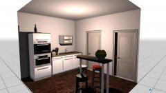 Raumgestaltung Zweite Wohnung Küche  in der Kategorie Küche