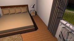 Raumgestaltung 1. Entwurf in der Kategorie Schlafzimmer