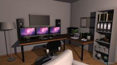 Raumgestaltung 12Danie2020L Gaming zimmer in der Kategorie Schlafzimmer