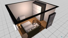 Raumgestaltung 75 in der Kategorie Schlafzimmer