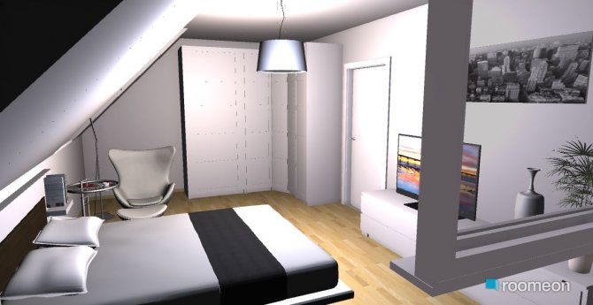 Raumgestaltung aki schlafzimmer in der Kategorie Schlafzimmer