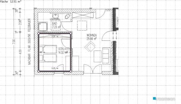 Raumgestaltung alibaba264 in der Kategorie Schlafzimmer