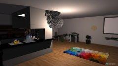 Raumgestaltung Aliena Einzimerwohnung in der Kategorie Schlafzimmer