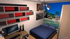Raumgestaltung Anastasia's kamer 2 in der Kategorie Schlafzimmer