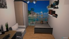Raumgestaltung Anastasia's kamer in der Kategorie Schlafzimmer