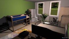 Raumgestaltung Anders Gestaltetes Zimmer in der Kategorie Schlafzimmer
