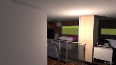 Raumgestaltung Andi 1 in der Kategorie Schlafzimmer