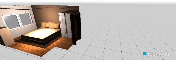 Raumgestaltung andrea bedroom in der Kategorie Schlafzimmer