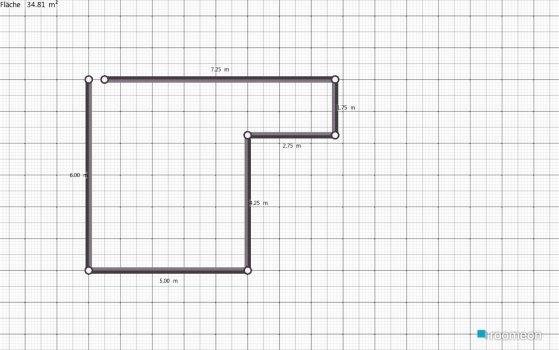 Raumgestaltung Andreas un pia in der Kategorie Schlafzimmer
