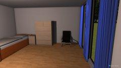 Raumgestaltung Anja Wohnzimmer in der Kategorie Schlafzimmer