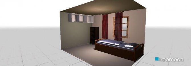 Raumgestaltung anne1 in der Kategorie Schlafzimmer