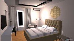 Raumgestaltung apartman 1 in der Kategorie Schlafzimmer