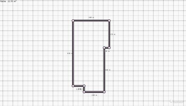Raumgestaltung Apartment1 in der Kategorie Schlafzimmer