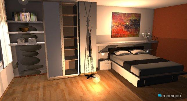 Raumgestaltung Appartement in der Kategorie Schlafzimmer