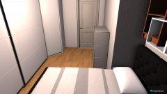 Raumgestaltung Arbeitszimmer als SZ in der Kategorie Schlafzimmer
