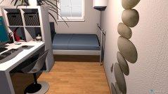Raumgestaltung auf kleinem raum in der Kategorie Schlafzimmer