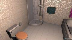 Raumgestaltung Łazienka 1 in der Kategorie Schlafzimmer
