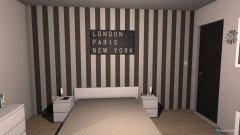 Raumgestaltung B&W in der Kategorie Schlafzimmer