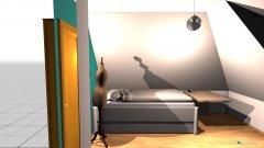Raumgestaltung Baby Girl in der Kategorie Schlafzimmer