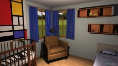 Raumgestaltung Baby's Room in der Kategorie Schlafzimmer