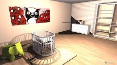 Raumgestaltung babyroom in der Kategorie Schlafzimmer