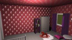 Raumgestaltung babys room in der Kategorie Schlafzimmer