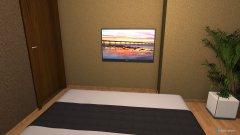 Raumgestaltung Bad als schlafzimmer in der Kategorie Schlafzimmer