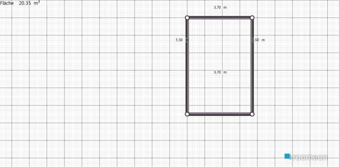 Raumgestaltung Badenstr. Erdgeschoss in der Kategorie Schlafzimmer