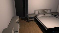 Raumgestaltung bed room main final design  in der Kategorie Schlafzimmer
