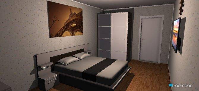 Raumgestaltung bed room1 in der Kategorie Schlafzimmer