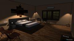 Raumgestaltung Bed room in der Kategorie Schlafzimmer