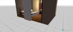 Raumgestaltung Bedroom 01 in der Kategorie Schlafzimmer