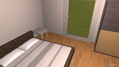 Raumgestaltung Bedroom 2 in der Kategorie Schlafzimmer