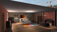 Raumgestaltung Bedroom by j.gourieh  in der Kategorie Schlafzimmer