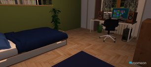 Raumgestaltung Bedroom desing in der Kategorie Schlafzimmer
