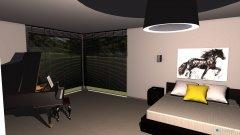 Raumgestaltung bedroom Lara in der Kategorie Schlafzimmer