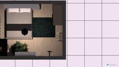 Raumgestaltung Bedroom plan in der Kategorie Schlafzimmer