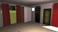 Raumgestaltung Bedroom - Study in der Kategorie Schlafzimmer