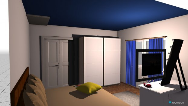 Raumgestaltung bedroom zuzka in der Kategorie Schlafzimmer