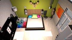 Raumgestaltung Bedroom1 in der Kategorie Schlafzimmer