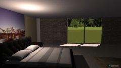 Raumgestaltung bedroomll in der Kategorie Schlafzimmer