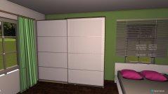 Raumgestaltung Beispiel 2 in der Kategorie Schlafzimmer