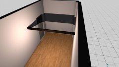 Raumgestaltung Benny_Schlafzimmer_Hochbett in der Kategorie Schlafzimmer