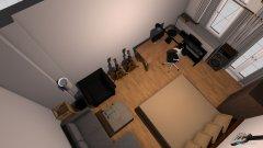Raumgestaltung berlin zimmer möglichkeit 2 in der Kategorie Schlafzimmer